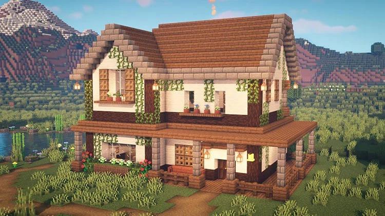 cozy farm house