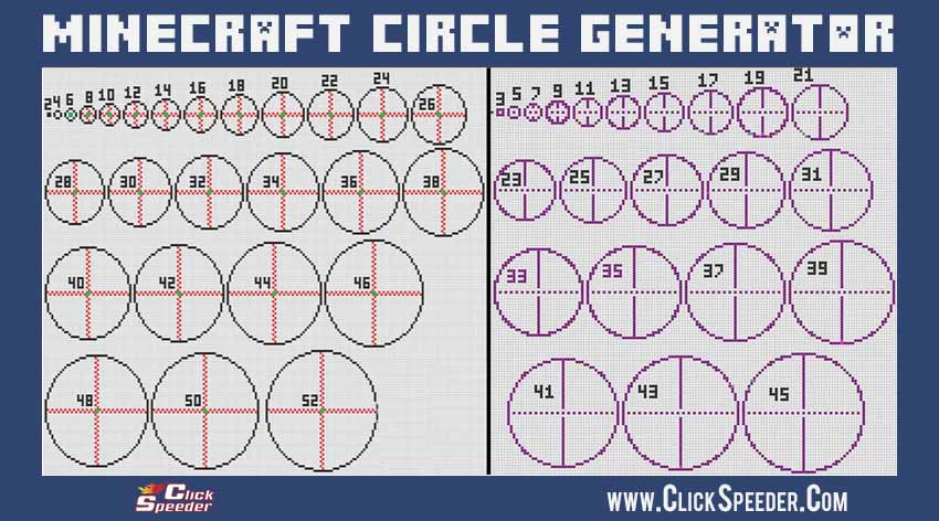 Minecraft Circle Guide
